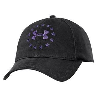 Under Armour Freedom Hat Black / Purple