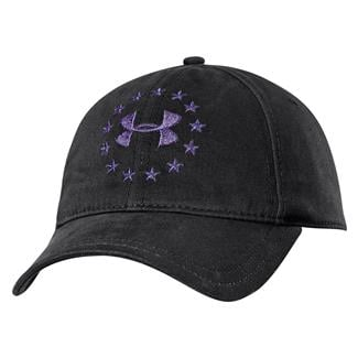 Under Armour Freedom Hat Black / Purple