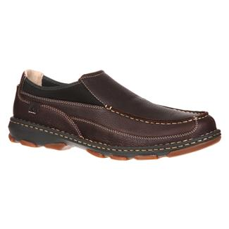 "Rocky 3"" Cruiser Casual Slip On Dark Brown"