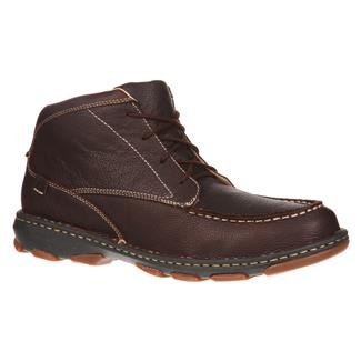 "Rocky 5"" Cruiser Casual Leather Dark Brown"