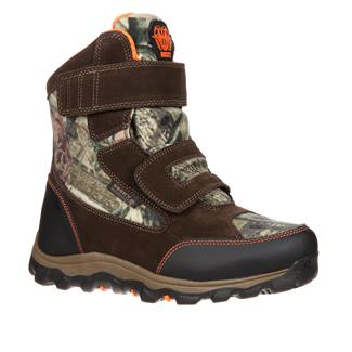 Kids' Rocky R.A.M. Velcro 800G WP Mossy Oak Breakup