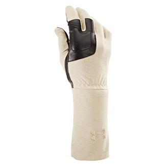 Under Armour Tac FR Liner Gloves Desert Sand