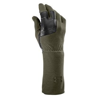 Under Armour Tac FR Liner Gloves Marine OD Green