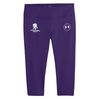 Under Armour WWP Capri Pants Purple