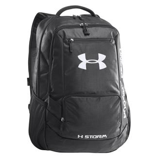 Under Armour Hustle Storm Backpack Black