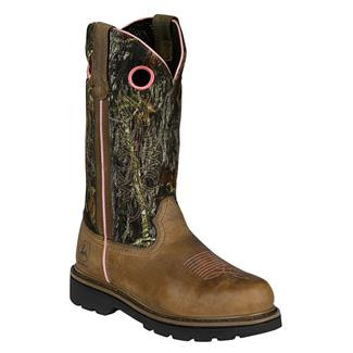"John Deere 11"" Classic Pull-On Dark Brown / Mossy Oak"