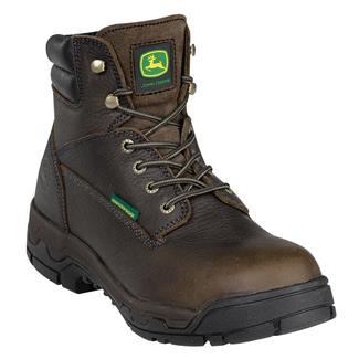 "John Deere 6"" WCT Lace-Up AT WP Bitterroot Stonehenge"
