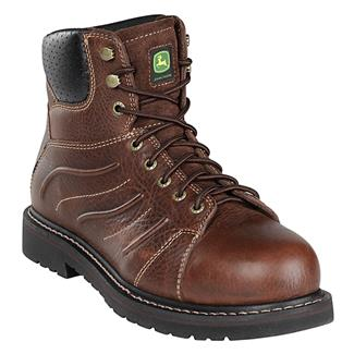 "John Deere 6"" WCT Lace-Up Mesquite"