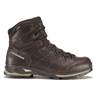 Lowa Hudson GTX Mid Dark Brown