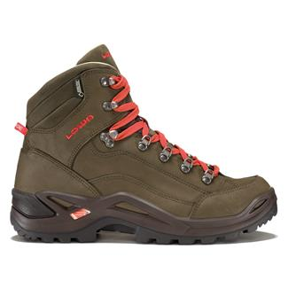 Lowa Renegade Pro GTX Mid Brown / Red