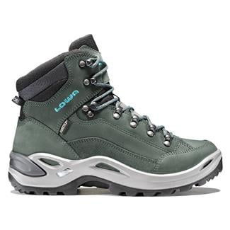 Lowa Renegade GTX Mid Anthracite / Turquoise