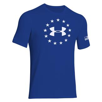 Under Armour Freedom T-Shirt Royal