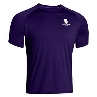 Under Armour WWP Tech T-Shirt Purpleheart