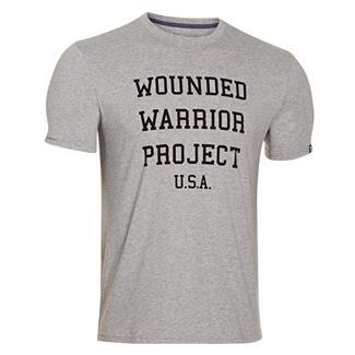 Under Armour WWP USA T-Shirt True Gray Heather