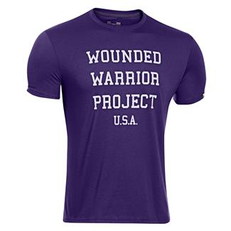 Under Armour WWP USA T-Shirt Purpleheart