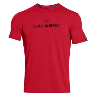 Under Armour WWP Believe In Heroes T-Shirt Red