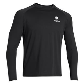 Under Armour Long Sleeve WWP Tech T-Shirt Black