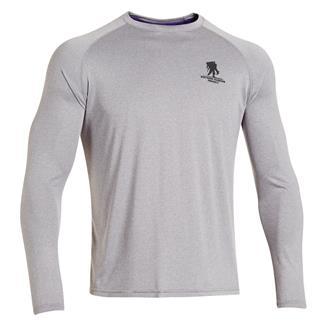 Under Armour Long Sleeve WWP Tech T-Shirt True Gray Heather