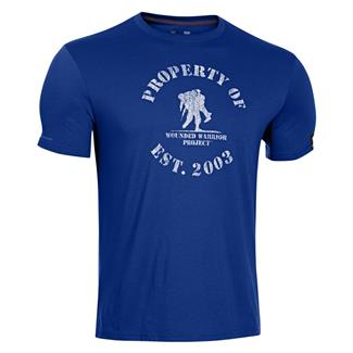 Under Armour WWP Property Of T-Shirt Royal