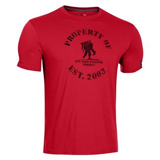 Under Armour WWP Property Of T-Shirt Red