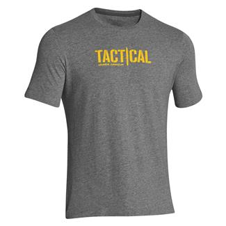 Under Armour Tactical Logo T-Shirt Carbon Heather
