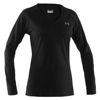 Under Armour Long Sleeve Tech T-Shirt Black
