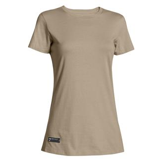 Under Armour Fitted Charged Cotton T-Shirt Desert Sand