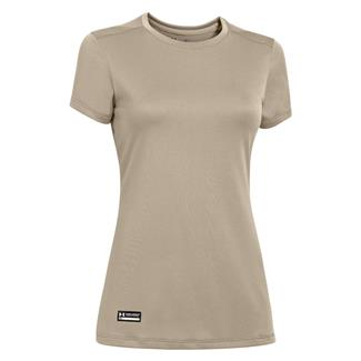 Under Armour Tech Tactical T-Shirt Desert Sand