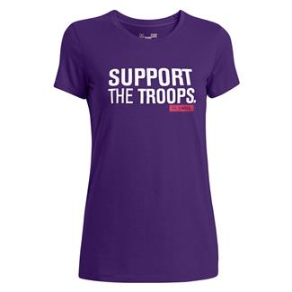 Under Armour Freedom Support T-Shirt Purple