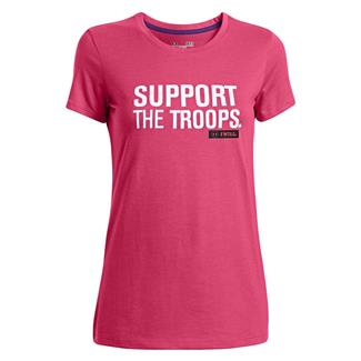 Under Armour Freedom Support T-Shirt Pink Sky