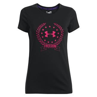 Under Armour Freedom Logo T-Shirt Black