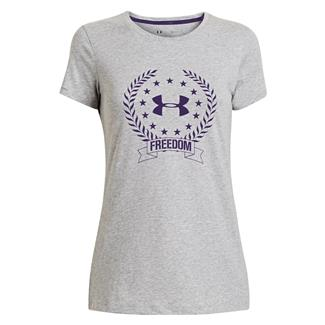 Under Armour Freedom Logo T-Shirt True Gray Heather