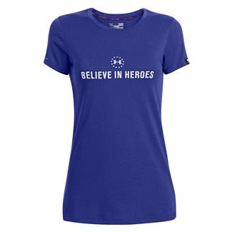 Under Armour WWP Believe In Heroes T-Shirt Siberian Iris