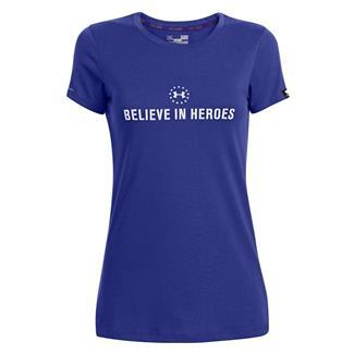 Under Armour WWP Believe In Heroes T-Shirt Siberian Iris