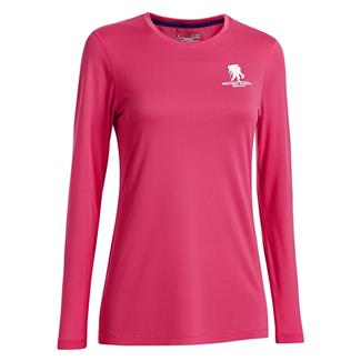 Under Armour Long Sleeve WWP Tech T-Shirt Pink Sky