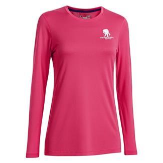 Under Armour Long Sleeve WWP Tech T-Shirt Pink Sky