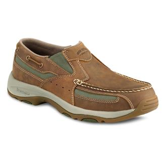 Irish Setter Lakeside Slip-On Brown / Green