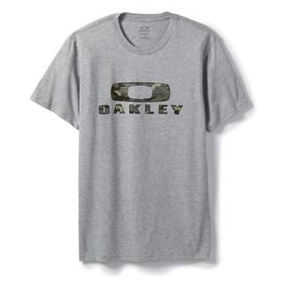 Oakley Camo Nest T-Shirt Heather Gray