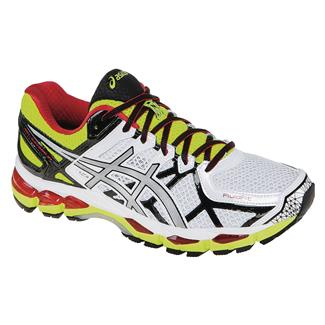 ASICS GEL-Kayano 21 White / Lightning / Flash Yellow