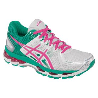 ASICS GEL-Kayano 21 White / Hot Pink / Emerald