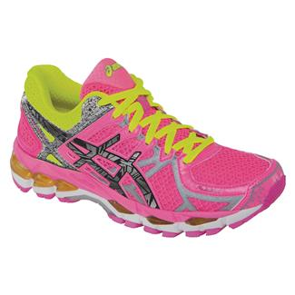 ASICS GEL-Kayano 21 Lite-Show Hot Pink / Lite / Safety Yellow