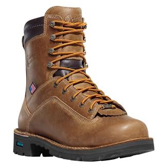 "Danner 8"" Quarry USA GTX 400G Distressed Brown"