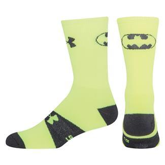 Under Armour Alter Ego Crew Socks Hi-Vis Yellow / Black