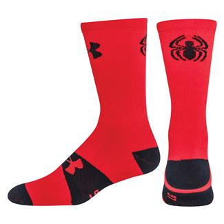Under Armour Alter Ego Crew Socks Red / Black