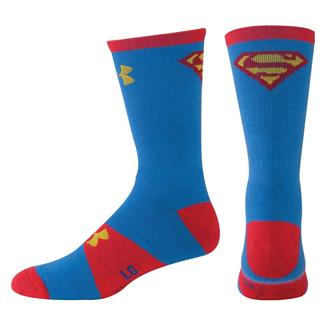 Under Armour Alter Ego Crew Socks Blue / Yellow