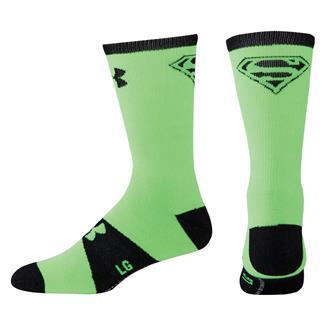 Under Armour Alter Ego Crew Socks Hyper Green / Black