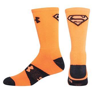 Under Armour Alter Ego Crew Socks Blaze Orange / Black