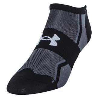 Under Armour Speedform Ultra Low Tab Running Socks Black
