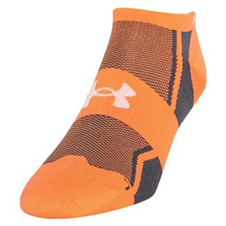 Under Armour Speedform Ultra Low Tab Running Socks Blaze Orange