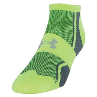 Under Armour Speedform Ultra Low Tab Running Socks Hi-Vis Yellow
